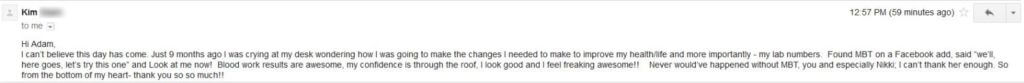 Image of Email Testimonial