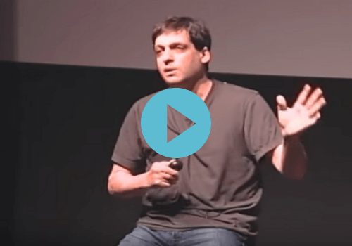 dan ariely on the ted stage talking about reward substitution