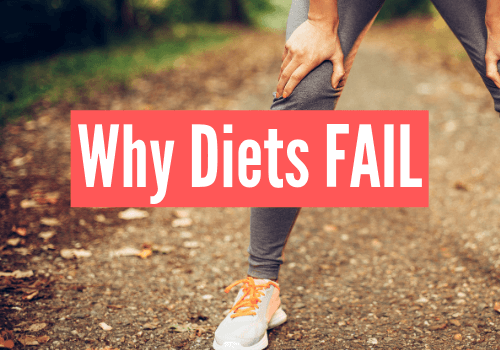 why diets fail and how to fix it
