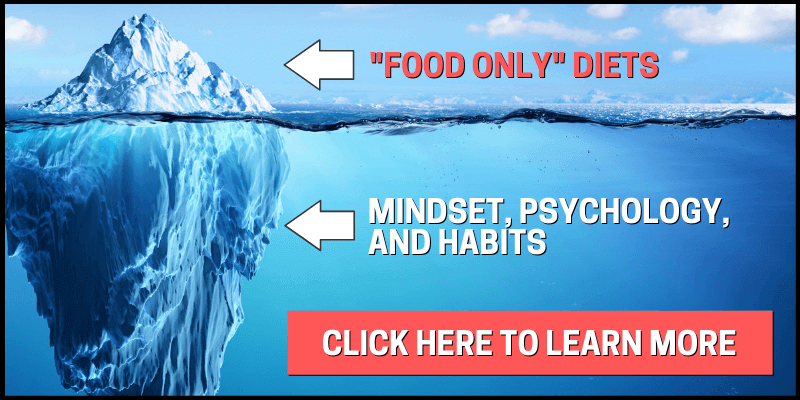 There are food only diets and then there are those that focus on mindset, psychology, and habits. Click here to learn more.